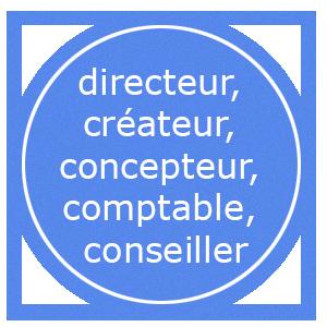 Picto métiers direction, création, conception, devis, facture, conseils Devauchelle et Fils Fréjus
